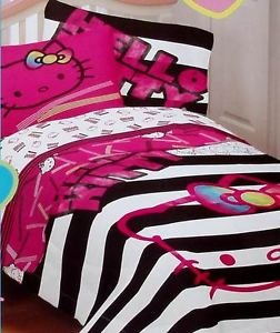 Hello Kitty Bed Sheets  We Love Kitty